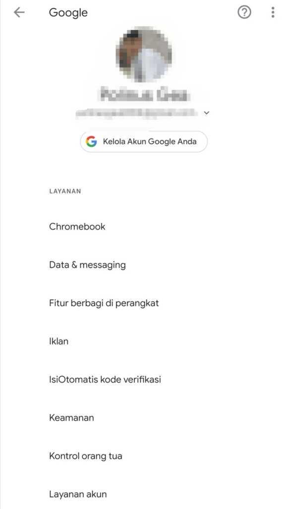Buka akun Google