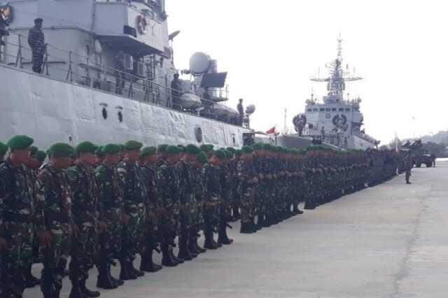 TNI di Natuna