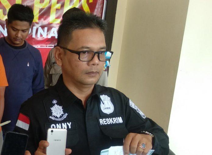 Kanit Reskrim Polsek Tanjungpinang Timur, Ipda Onny Chandra