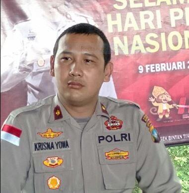 Kapolsek Bintan Timur, Kompol Krisna Ramadhani