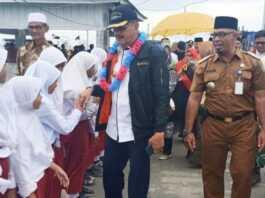 Bupati Natuna Hamid Rizal