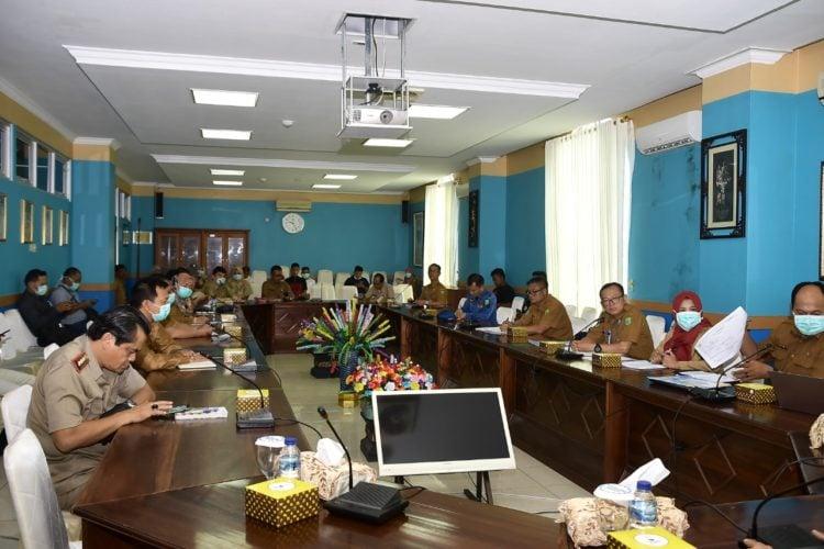 Rapat Pemkab Natuna
