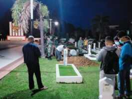 Pemakaman Wali Kota Tanjungpinang