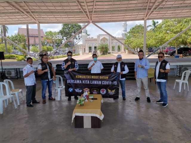 Komunitas Moge Batam Galang Dana