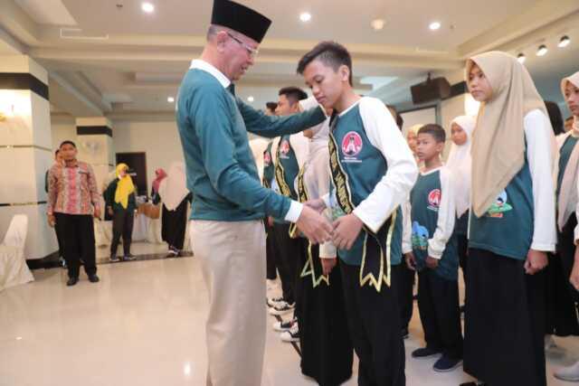 Dukung Anak Kembangkan Prestasi, Syahrul Lantik kepengurusan Forum Anak Kota Tanjungpinang