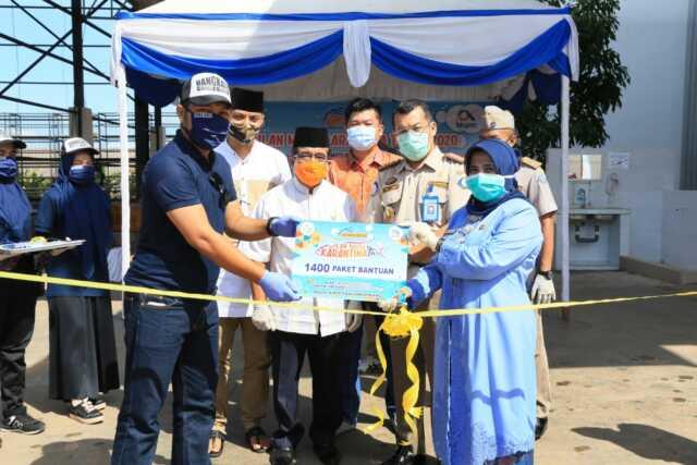 1.400 Paket Ikan Sehat dan Bermutu disebar ke Masyarakat Tanjungpinang dan Bintan