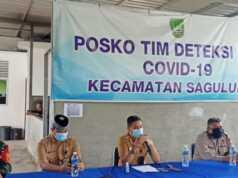 Posko Covid-19 Sagulung