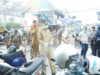 Walikota Lakukan Penyemprotan Disinfektan di Area Keramaian