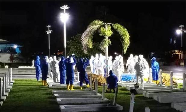 Pemakaman Syahrul