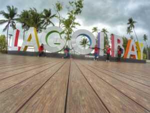 Lagoi Bay.