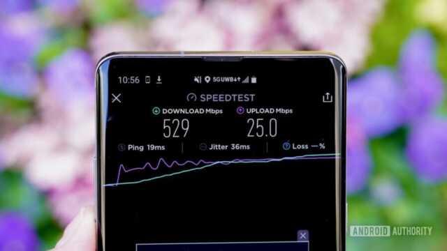 Kecepatan jaringan 6G