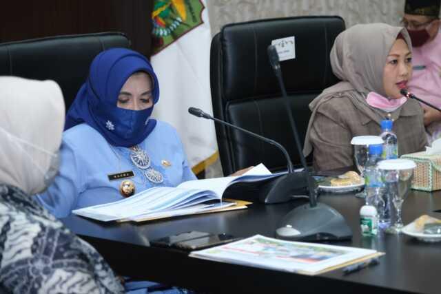 Plt. Walikota beserta FKPD, Bahas Persiapan Pilkada Serentak 2020