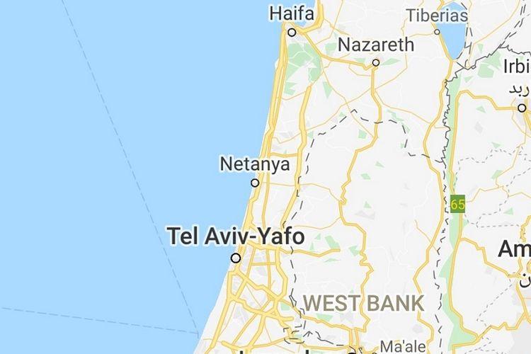 Palestina dihapus dari Google Maps