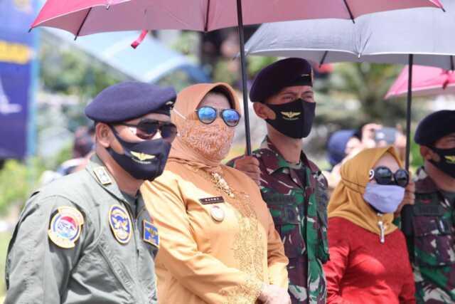 Rahma Bangga Rajawali Flight Unjuk Aksi di Langit Tanjungpinang