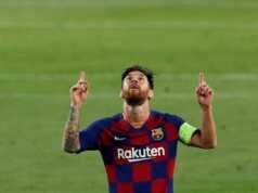Barcelona Messi Napoli