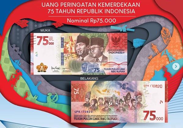 Uang Edisi Kemerdekaan