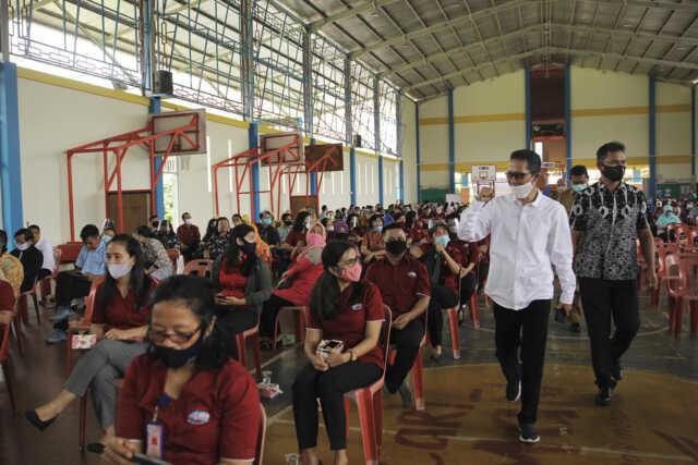 Guru Sosialisasikan Protokol Kesehatan