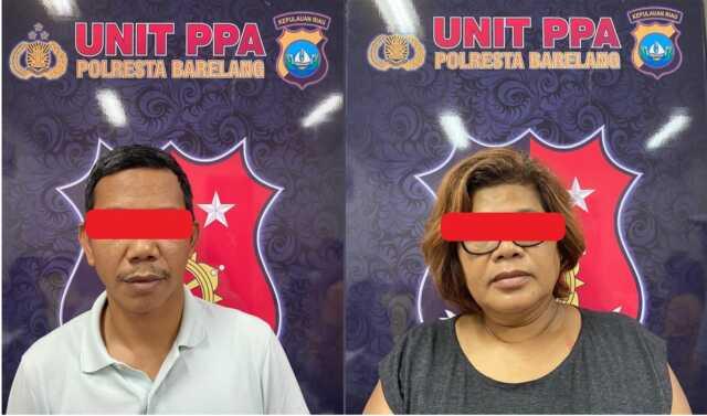 Suami Istri Ditangkap Polisi