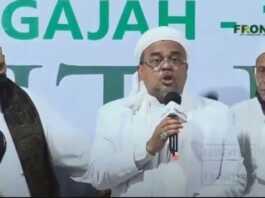 Habib Rizieq Tersangka