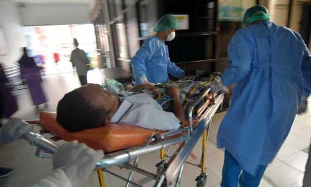 Simulasi penanganan pasien