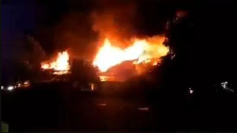 Asrama Mako Brimob Terbakar