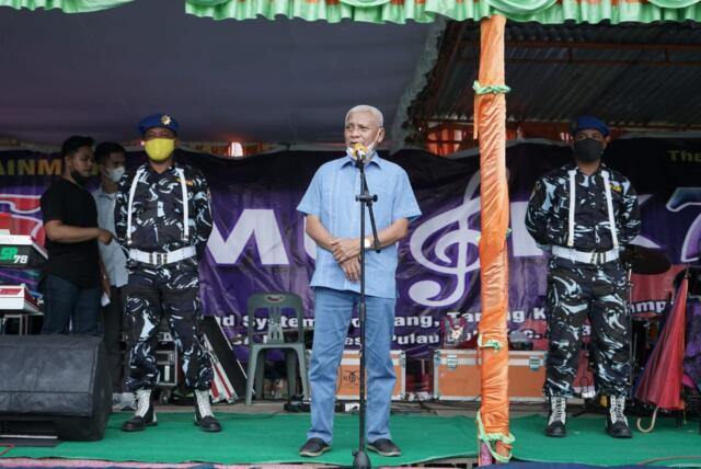 Bupati Asahan Surya Silaturahmi Dengan Komunitas Pedagang