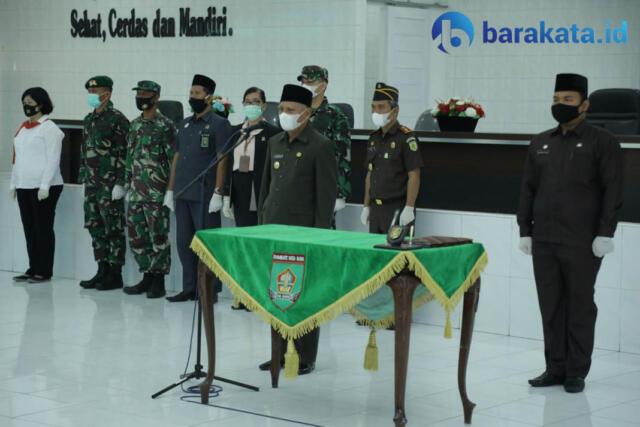Pelantikan Pengurus KPAD Kabupaten Asahan