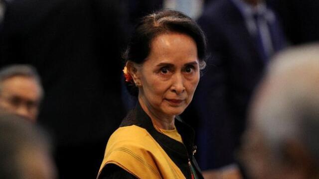 Kudeta Myanmar Suu Kyii
