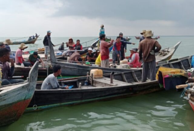 Marak Beroperasi, Tank Kerang Thailand Ancam Mata Pencaharian Nelayan Tradisonal