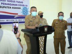 Rahmat Hidayat Siregar, Kabupaten Asahan masuk dalam zona orange