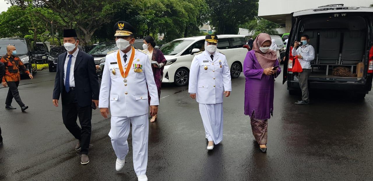 Tiba di Istana Presiden, Ansar – Marlin Ikuti Prosesi Pelantikan Pukul 10.30
