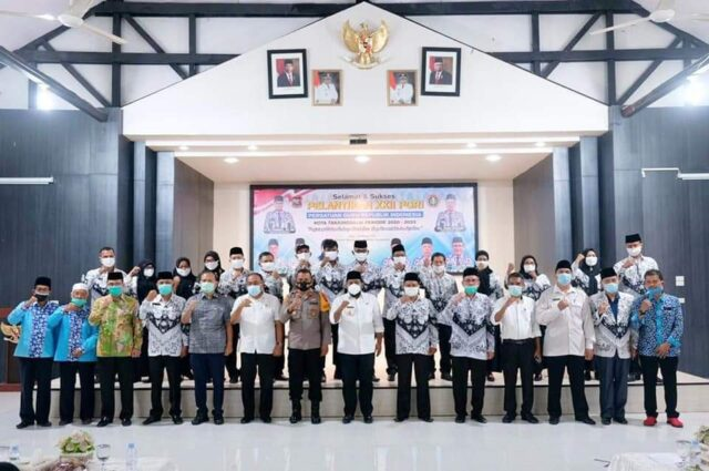 Pelantikan Pengurus PGRI Kota Tanjungbalai