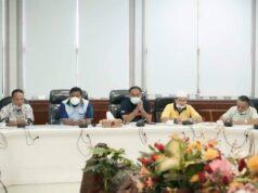 Pengurus PGRI Kota Tanjungbalai yang baru untuk periode 2021-2025.