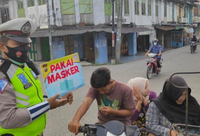 Satlantas Polres Tanjungbalai Gelar Public Speaking