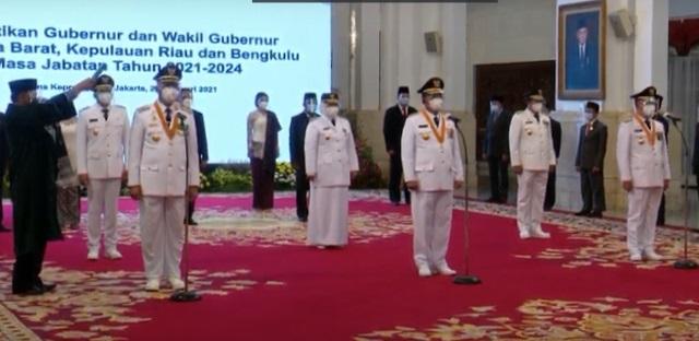 Hari Ini Ansar-Marlin Resmi Dilantik Menjadi Gubernur dan Wagub Kepri