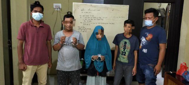 Ibu Rumah Tangga yang melakukan transaksi sabu di Tanjungbalai Asahan