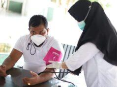 Proses Vaksin Walikota Tanjungbalai