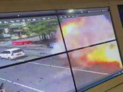 Gambar Ledakan Bom di Gereja Katedral Makasar