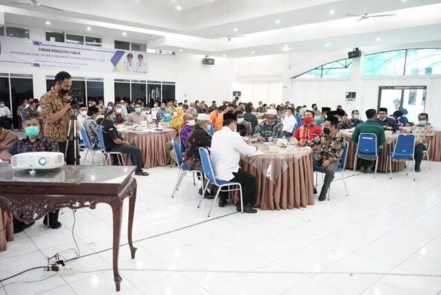 Forum Konsultasi Publik oleh Pemkab Asahan