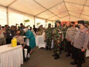 TNI dan Polri Divaksin