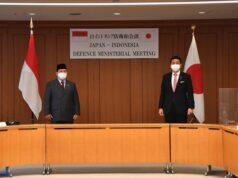Menhan RI - Menhan Jepang