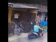 Dua Pelaku Pencurian di Batam Terekam CCTV