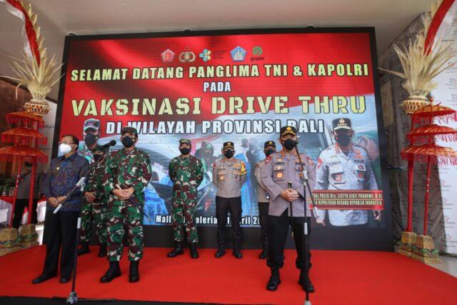 Panglima TNI dan Kapolri