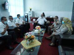 Pertemuan Pemkab Asahan Dengan Kepala Karantina Taniungbalai Asahan