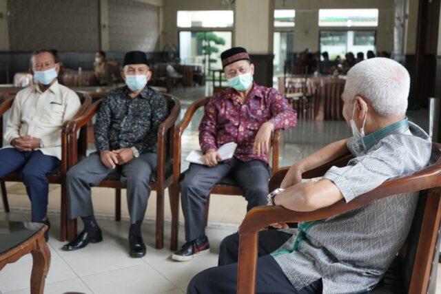 Bupati Surya Terima Kunjungan STIE Muhammadiyah Asahan
