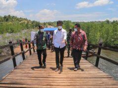 Jembatan Raja Mas Diresmikan