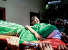 Warga Palestina Meninggal