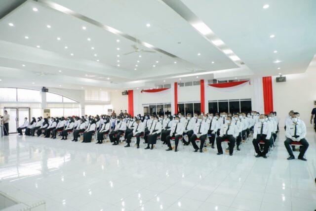 Acara Pemyerahan Petikan SK Pengangkatan Bupati Asahan kepada 140 PPPK