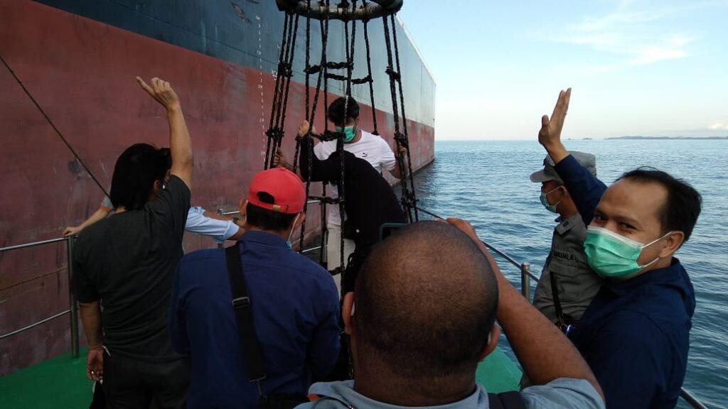 Nakhoda kapal di keluarkan dari wilayah Indonesia
