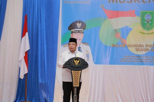 DPRD Natuna Menyampaikan Pokir di Musrenbang